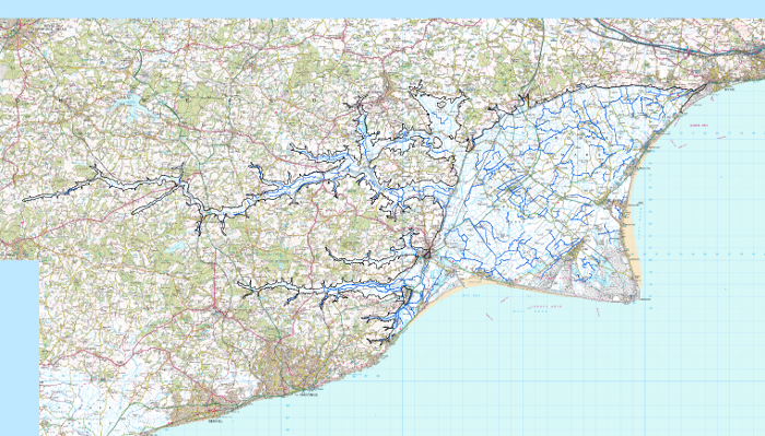 Romney Marsh Area Map